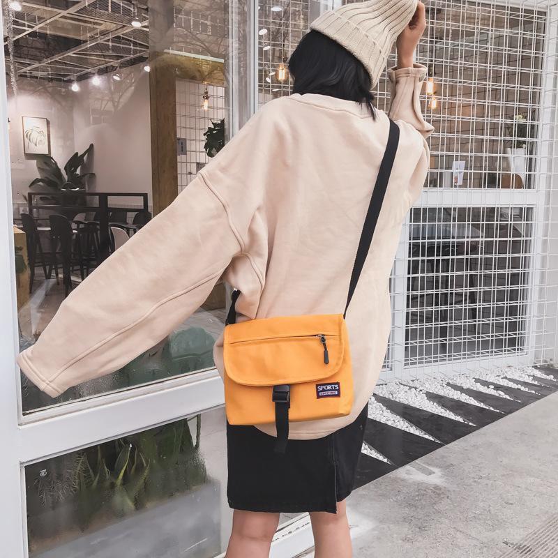 กระเป๋าผ้าใบสะพายไหล่แฟชั่นสตรี anello กระเป๋าสะพายข้าง coach พอ กระเป๋า sanrio gucci marmont gucci dionysus bag วินเทจ