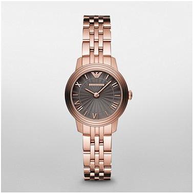 Emporio Armani Women's AR1719 Rose Gold Classic Watch