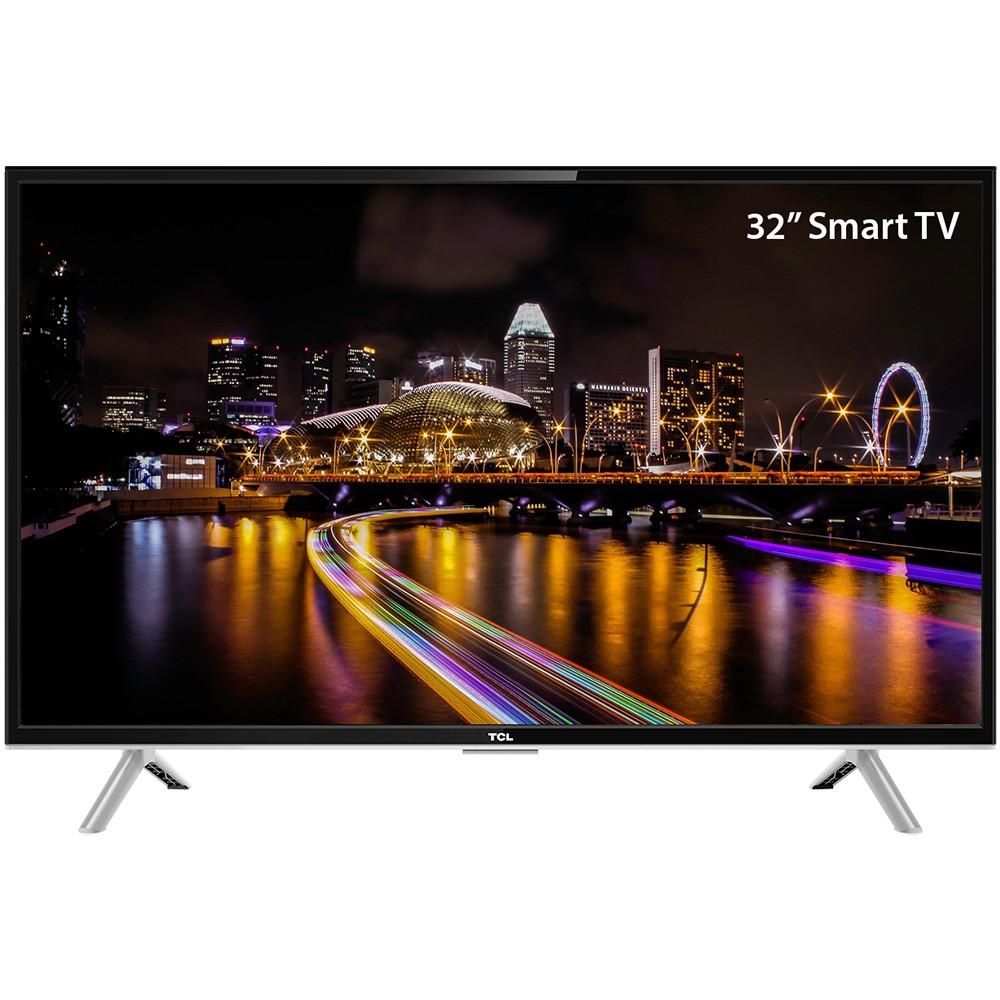 TCL LED32S62 สมาร์ททีวี ไวไฟ 32 นิ้ว HD รับประกัน 1 ปี Wifi Youtube Nexflix