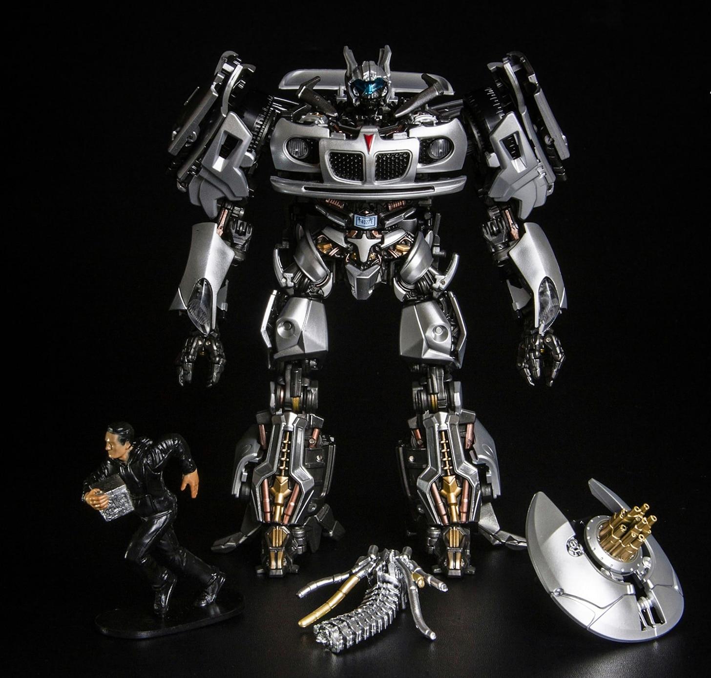 Transformation BMB Metal Part LS18 Jazz Figure Toy
