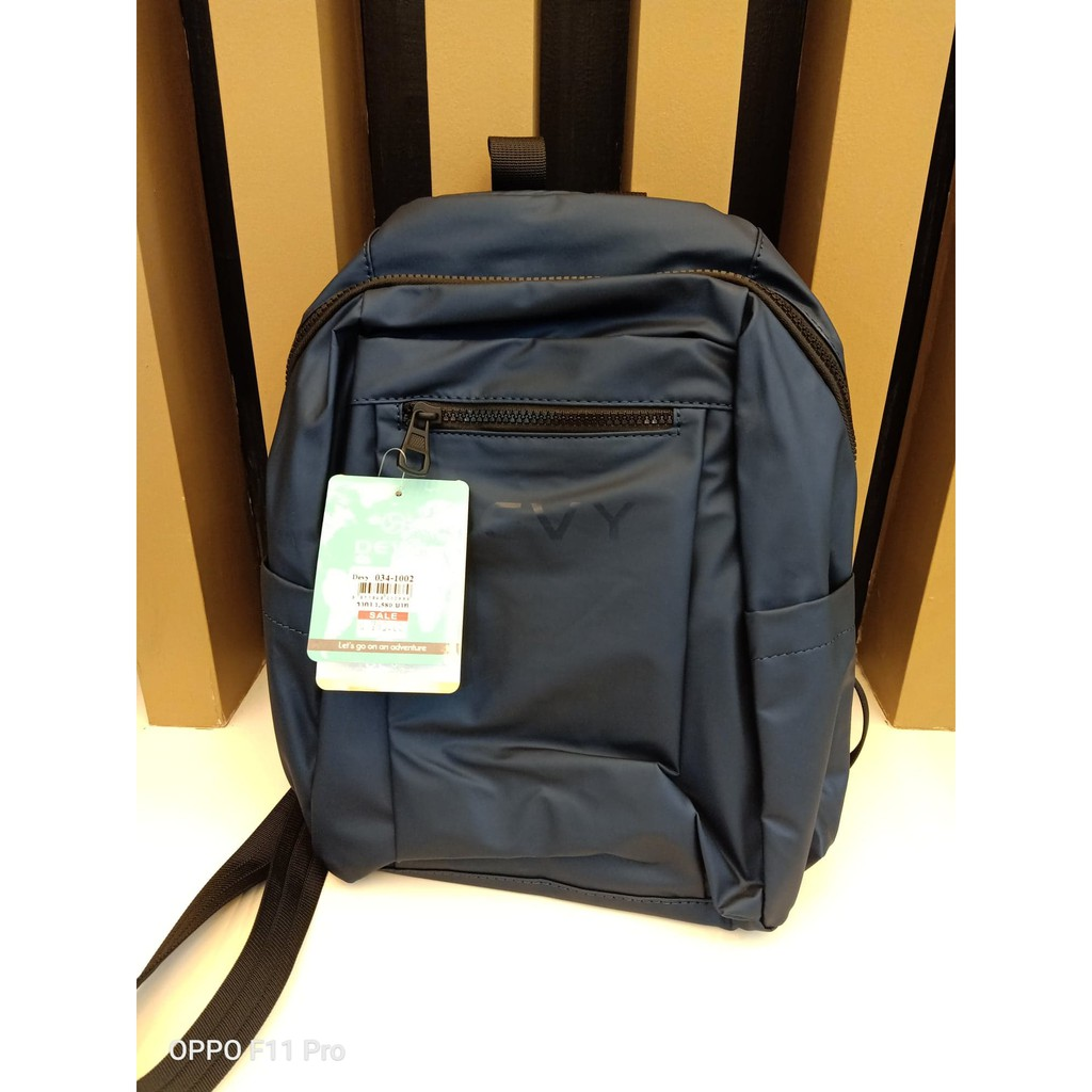 กระเป๋าเป้ขนาดกลาง Devy รุ่น 034-1002 สีกรมท่า ราคาพิเศษ 790บาท