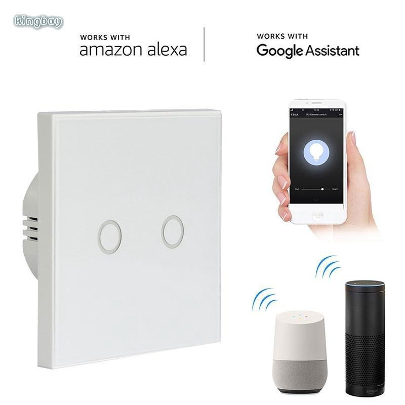 King Google Home Touch Light Switch Automation APP Control