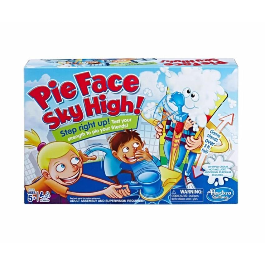 Hasbro เกมไม้พายตีหน้า Pie Face Sky Hight (35966)