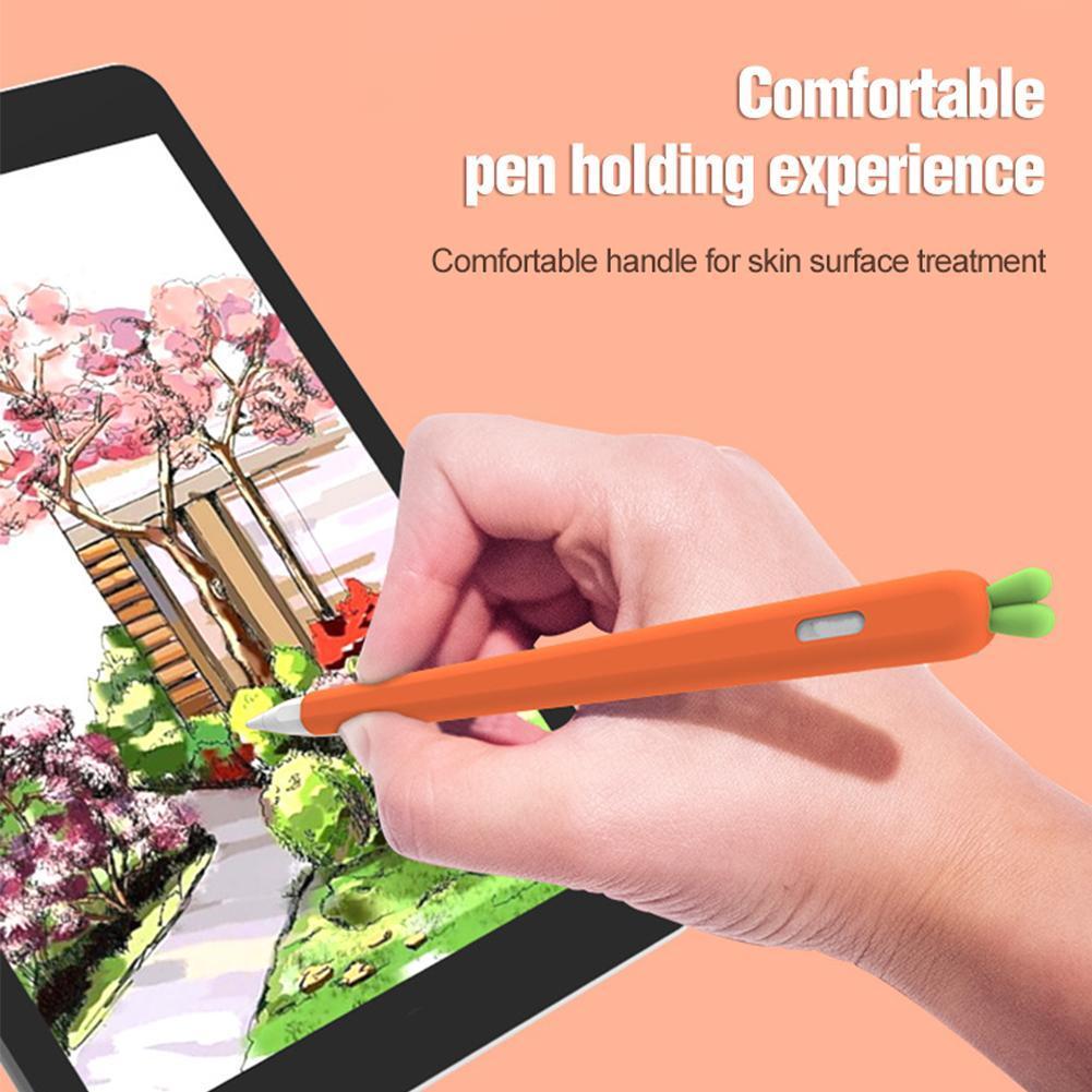 ชุดปากกาลายการ์ตูนแครอท Applepencil2 E6E9 1ชิ้น