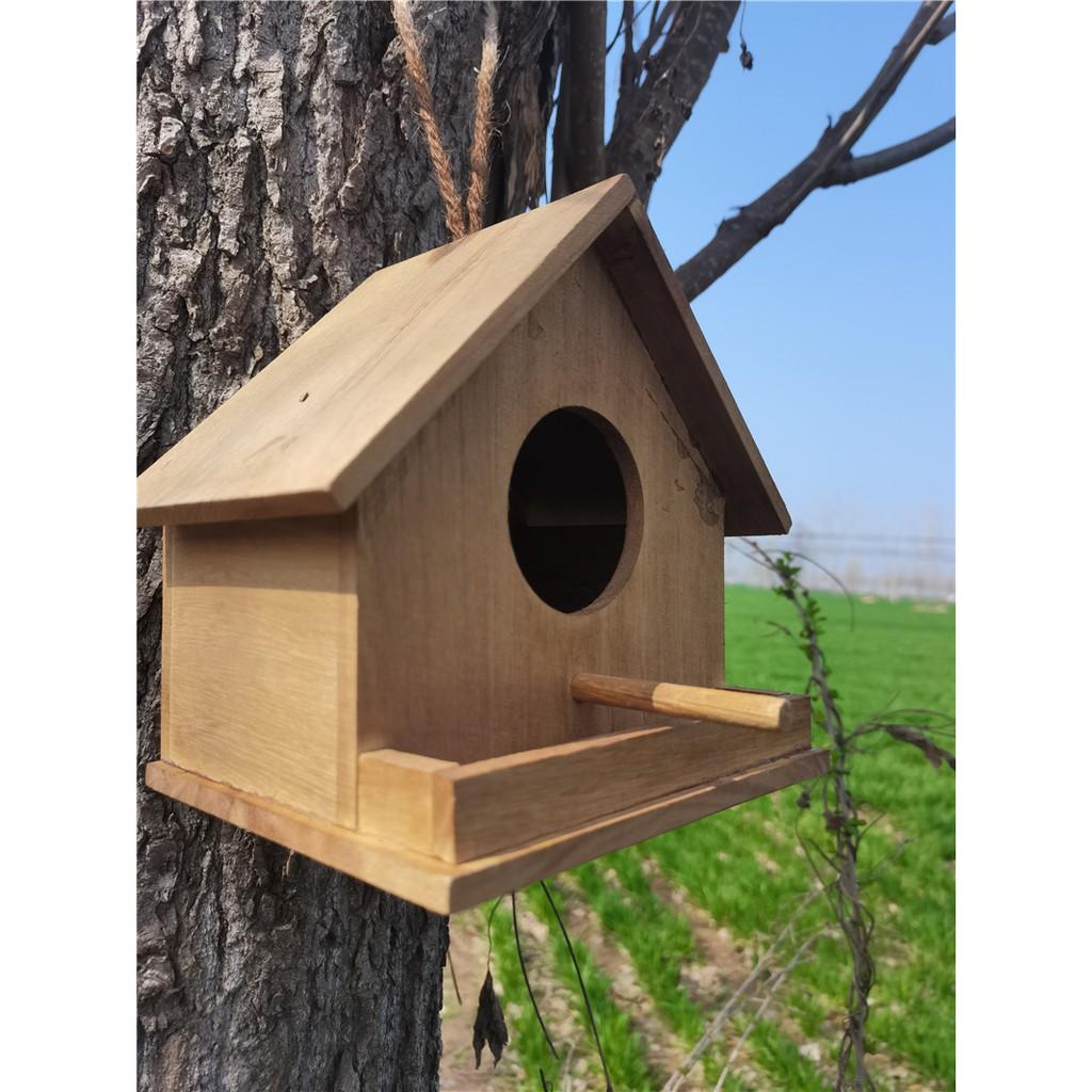 ♝○รังนก ไม้เนื้อแข็ง นกนางแอ่น กล่องเพาะพันธุ์ เชิงชาย บ้านนก กระจอกไม้ บ้านนก บ้านนก