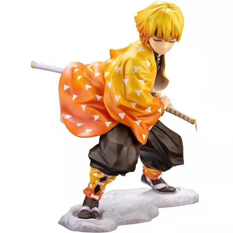 หุ่นญี่ปุ่น:20 Styles Demon Slayer Anime Figure Kochou Shinobu Figure Kimetsu no Yaiba Kamado Tanjirou Action Figure Aga