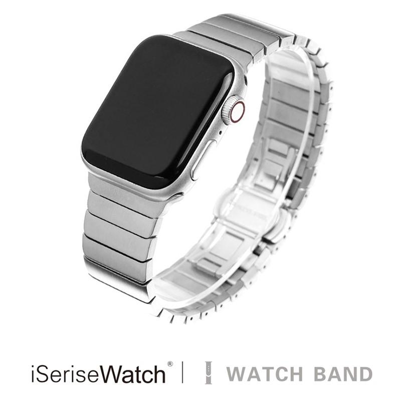 สายนาฬิกาข้อมือสแตนเลส 38 / 44 มม. สําหรับ Applewatch 1stity Iwatch 4 / 5 Generation