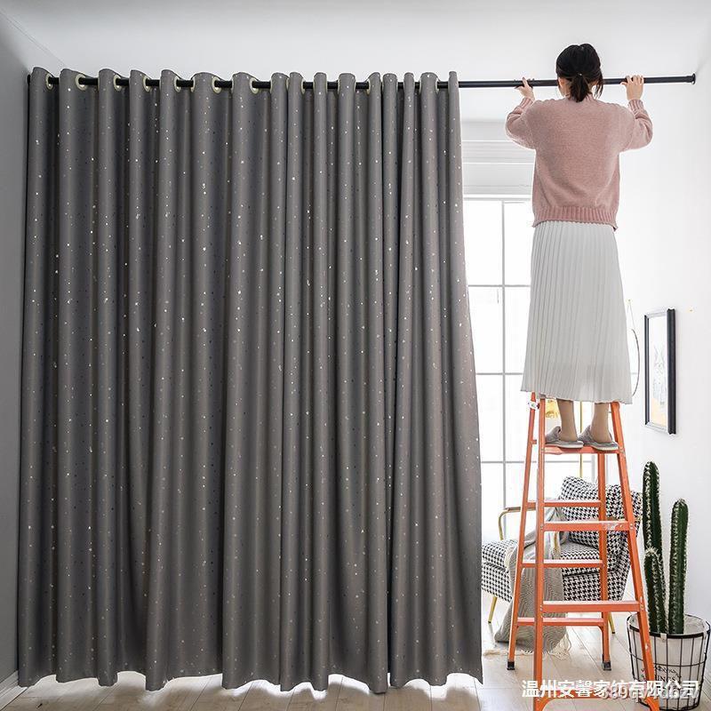 พร้อมส่ง🔥👍ผ้าม่าน ประตูหน้าต่าง ผ้าม่านเจาะตาไก่ ทึบแสง กันแดด กันUV ผ้าม่านสำเร็จรูป