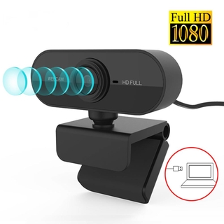 Webcam 1080P Full HD Web Camera With Microphone USB Plug Web Cam คอมพิวเตอร์ กล้องเว็บแคม For PC Computer Mac Laptop
