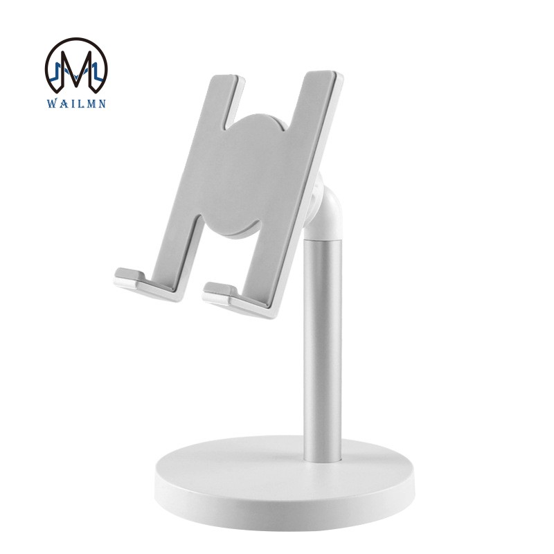 =.=Universal Adjustable Desktop Cell Phone Holder for iPhone Samsung Tablet Mobile Desk Mount Phone Holder Stand Support