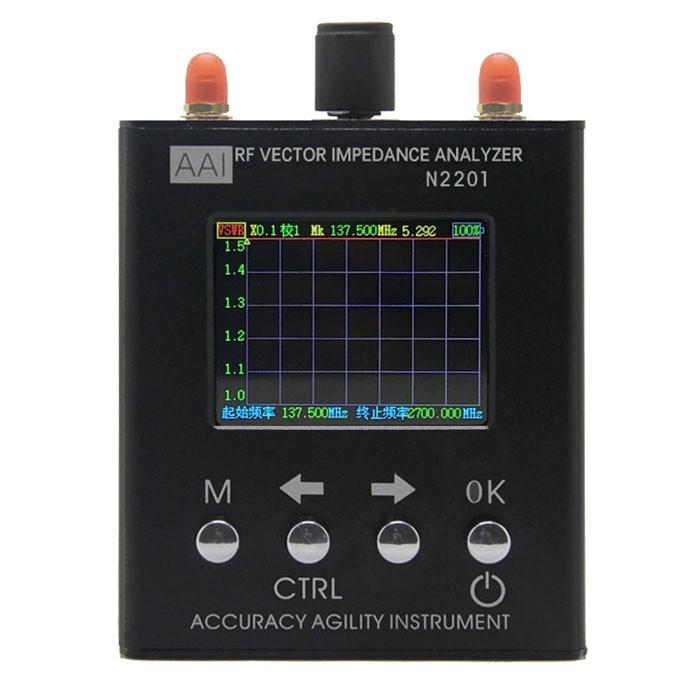 N2201SS RF Vector Impedance Analyzer Antenna Meter Tester 137.5-2.7HMz N1201SA
