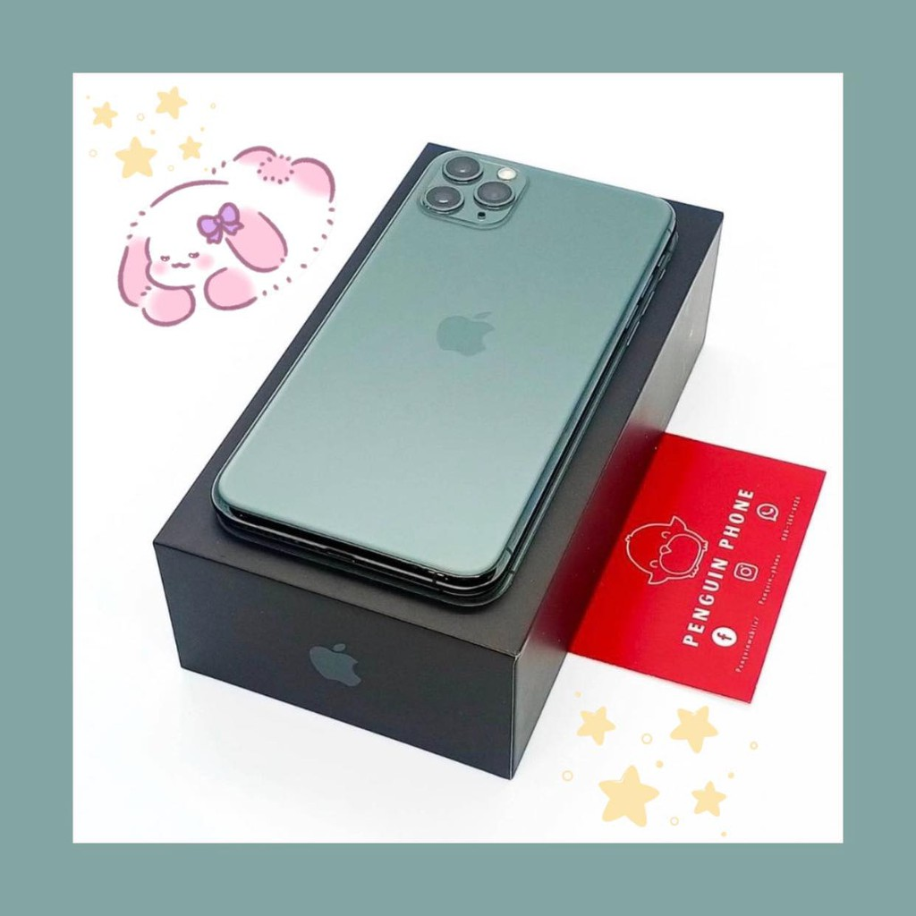 iPhone 11 Pro Max 256GB สี Midnight Green มือสอง สภาพ 99.99% [ไอโฟนมือสอง iPhoneมือสอง ไอโฟนมือ2 โทรศัพท์มือสอง]