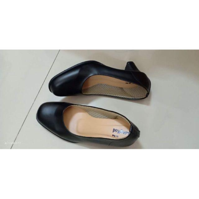 รองเท้าคัชชูสีดำ (รองเท้รับปริญญา) นุ่ม ไม่ปวดเท้า