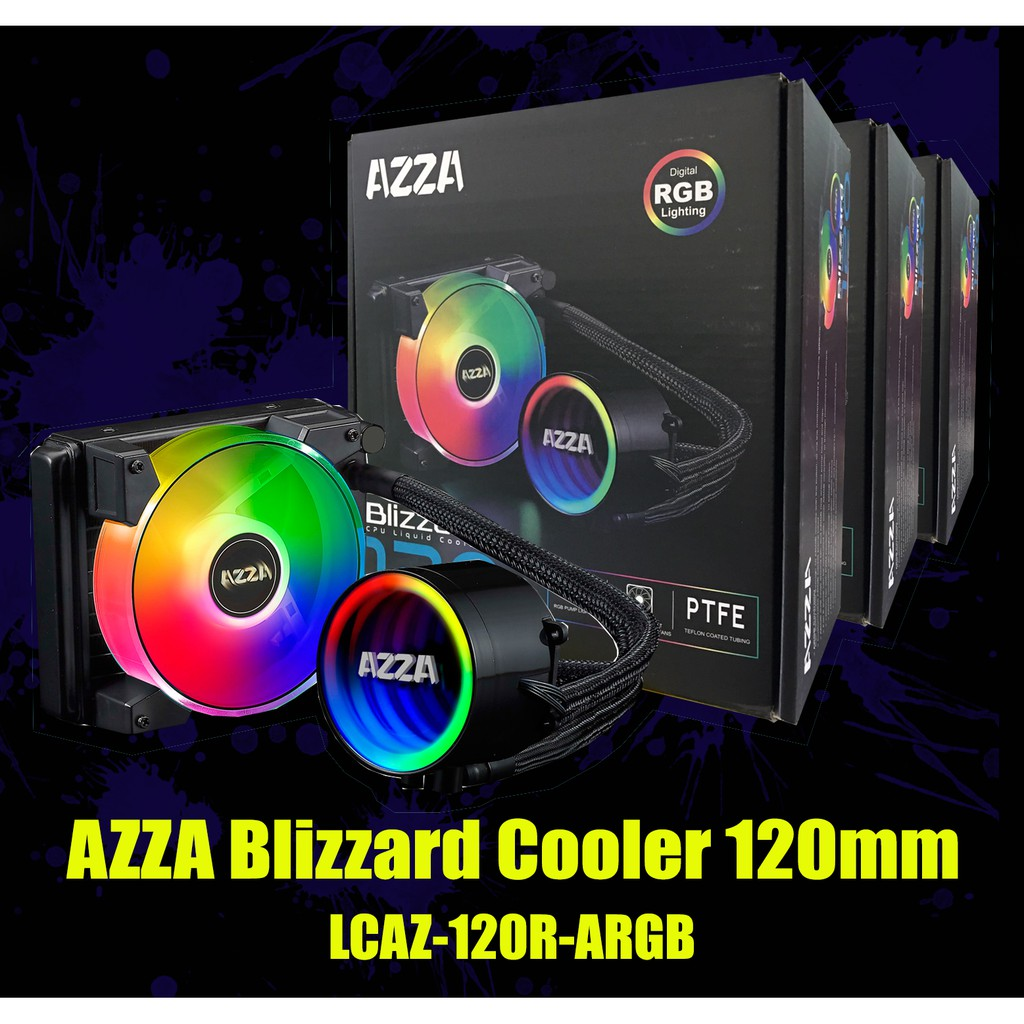 AZZA Blizzard Cooler ARGB LED FAN
