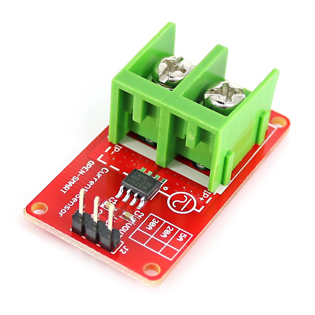 5A ACS712 Current Sensor Kit with Display and Touch Module for Current  Measurement for Arduino