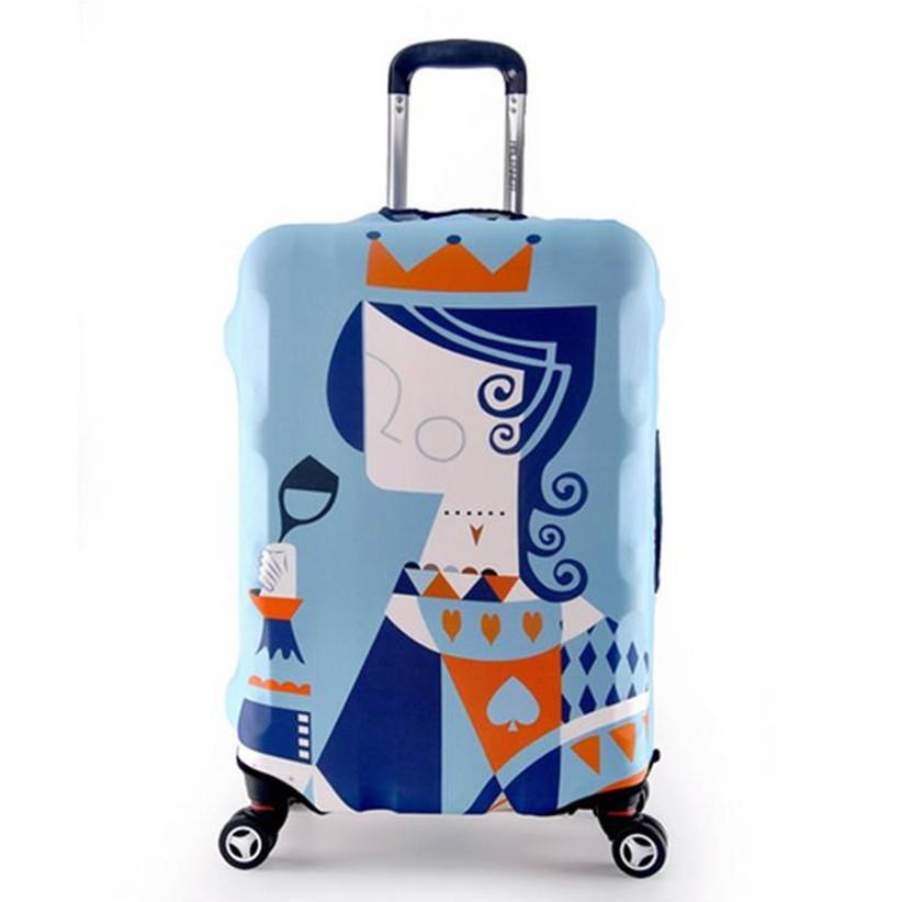 ผ้าคลุมกระเป๋าเดินทาง (ไซส์ 19-32 นิ้ว S/M/L/XL)