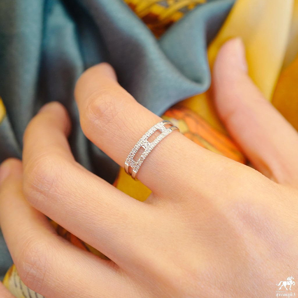 แหวนเพชรแท้ทองคำแท้ No.4 เพชรเบลเยี่ยมคัท ทองคำแท้ 9k (37.5%) ในราคาเปิดตัว ✅ ขายได้ มีใบรับประกัน