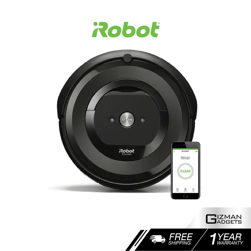[ของแท้ประกัน 1 ปี] iRobot Roomba E5 หุ่นยนต์ดูดฝุ่นอัตโนมัติ ระบบทำความสะอาด 3 ขั้นตอนที่เหนื