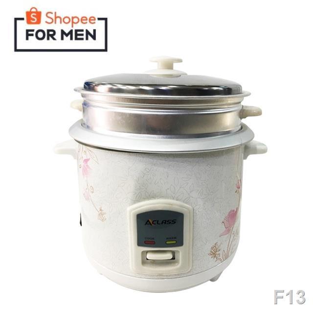 ❀✉✗Aclass / In-House หม้อหุงข้าว 1.8ลิตร รุ่น RC-1803  พร้อมซึงนึ่งอาหาร Y