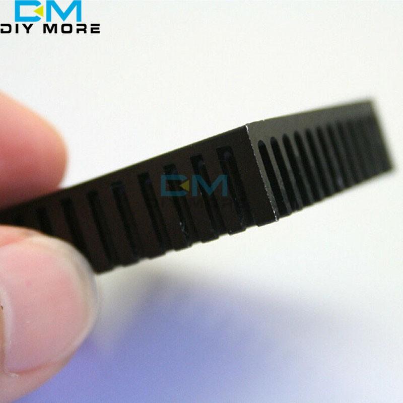 2PCS Aluminum Heatsink Cooling 40x40x11mm LED Power Memory Chip IC Transistor S