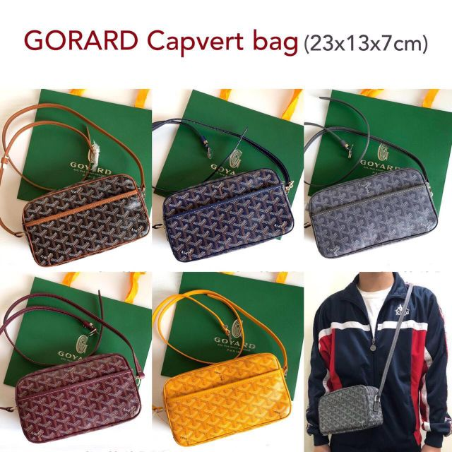 New Goyard Capvert Bag