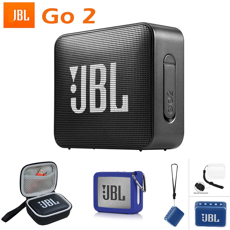 GO 2 Portable Wireless Bluetooth Speaker Outdoor Portable Waterproof Stereo Speaker for Jbl Charge 3 4 Boombox 2 XTREME
