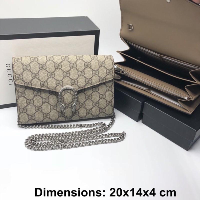 New Gucci Dionysus woc beige