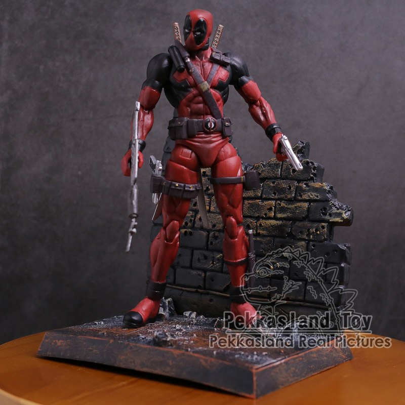 "Marvel Deadpool PVC Action Figure Collectible Model Toy 7"" 18cm"