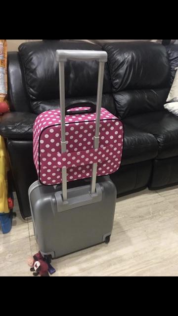 กระเป๋าเดินทางใบเล็ก กระเป๋าจัดระเบียบ cAp3