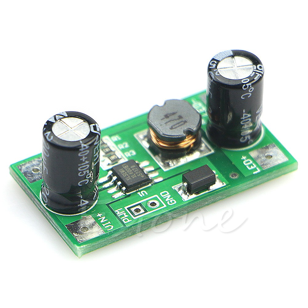 10PCS 350mA 1W LED Driver PWM Light Dimmer DC-DC 5-35V Step Down Module M