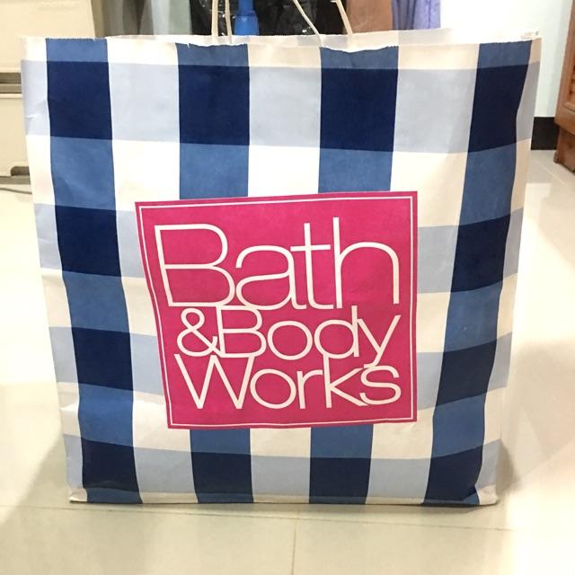 ถุงกระดาษ Bath&Body work