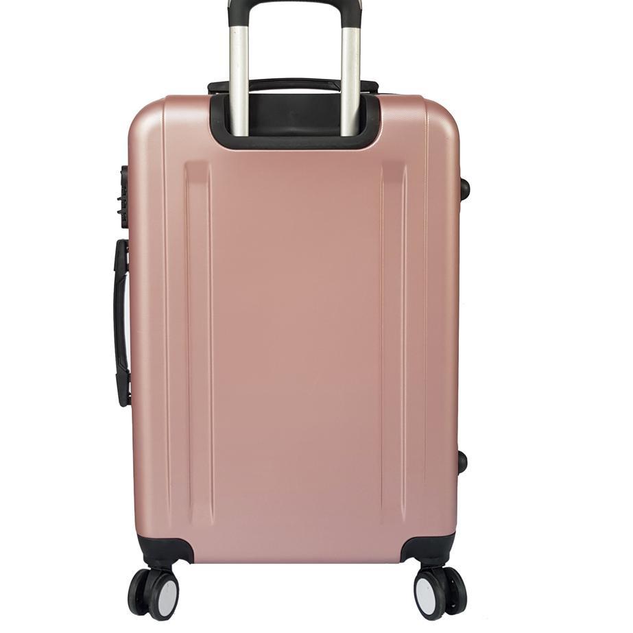 กระเป๋าเดินทาง Polo Milano ไฟเบอร์ 24 นิ้ว 6120 Abs ป้องกันกระแทก
