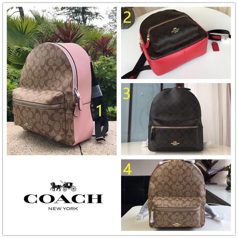 Coach  F32200 กระเป๋าสะพายหลังสำหรับผู้หญิง / เป้สะพายหลัง / กระเป๋าเดินทาง / กระเป๋าคอมพิวเตอร์