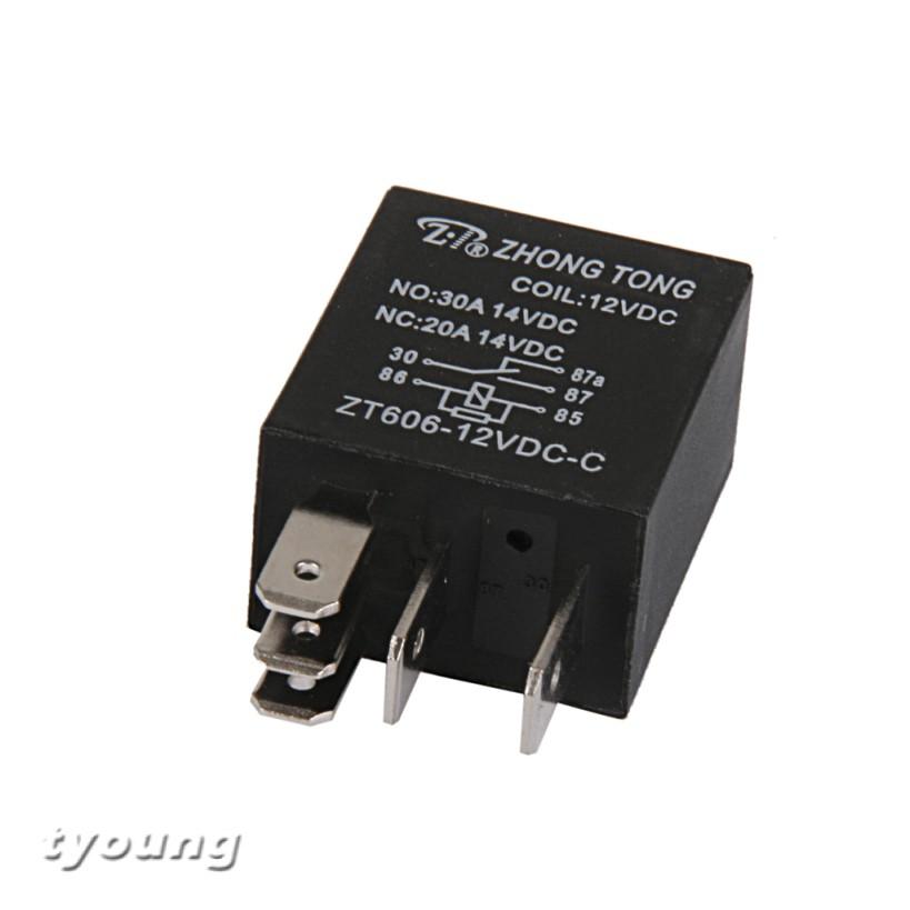 12V Mini Miniature Power Relay SPDT 15A
