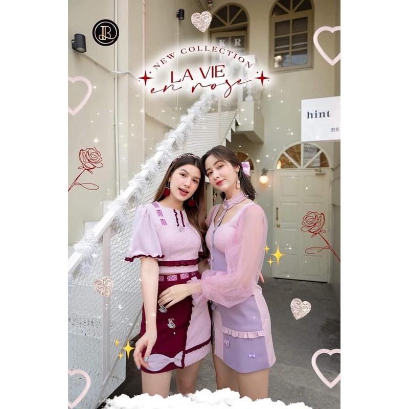 พร้อมส่ง 🦋 BLT Size L 🌺 Sweet Rose & Happy Pink คอลเล็กชั่นใหม่ล่าสุด สีชมพูหวาน ดีเทลสุดน่ารัก ของมันต้องมีนะจ้ะ