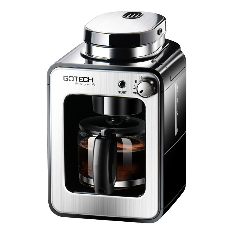 Gaotai เครื่องบดกาแฟสดหน้าแรกเครื่องทำกาแฟแบบอเมริกันออลอินวันอัตโนมัติเครื่องบดเมล็ดกาแฟขนาดเล็กขนาดเล็ก