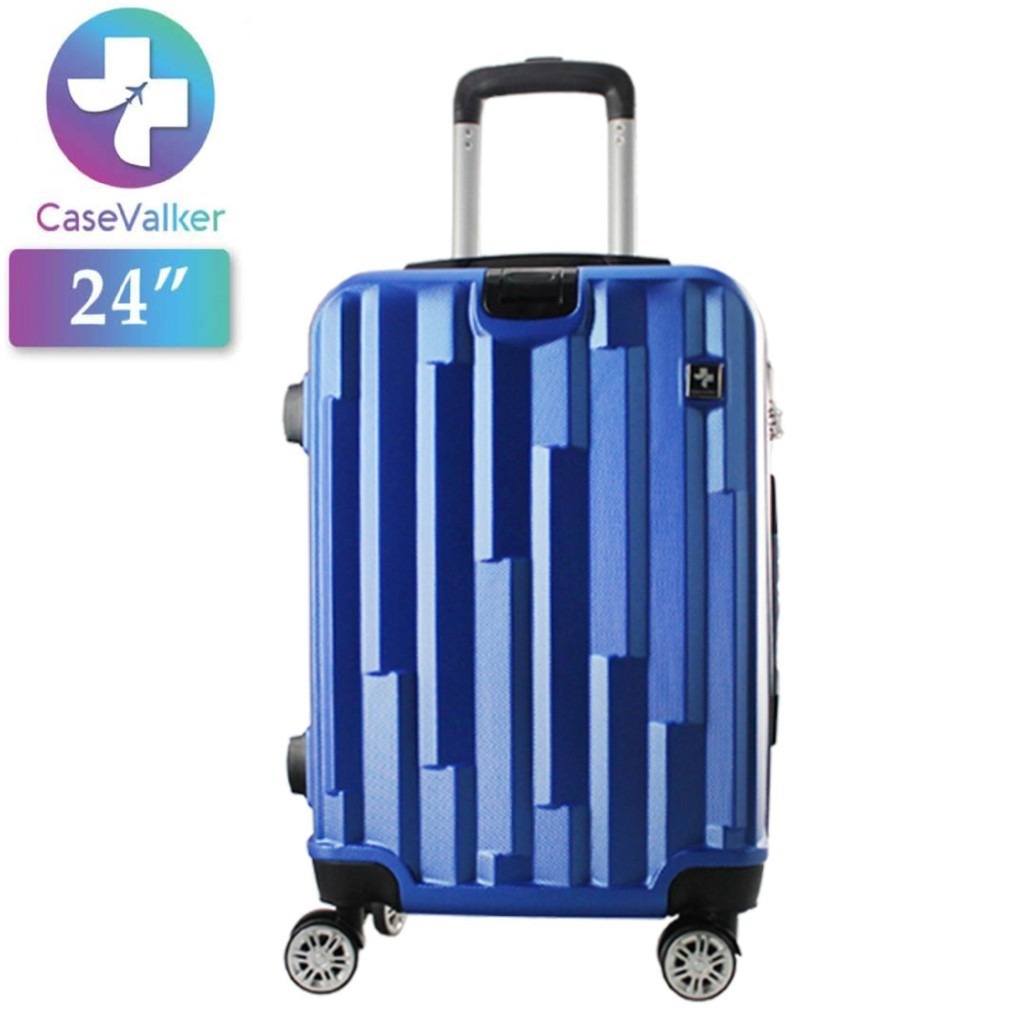 "Case Valker Best Seller ABS / ABS + PC Luggage Bag กระเป๋าเดินทาง (24 "")"