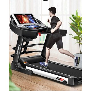 Household electric smart wifi treadmill folding mute shock multi-function sports fitness equipment