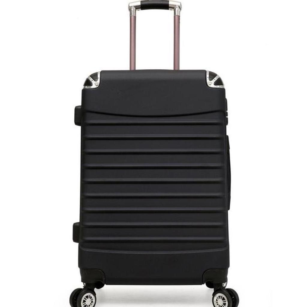 กระเป๋าเดินทาง24นิ้ว ล้อ360องศาลื่นเข็นง่าย วัสดุABS+PCแข็งแรงทนทานระเป๋าเดินทาง24นิ้ว ล้อ360องศาลื่นเข็นง่าย วัสดุABS+P