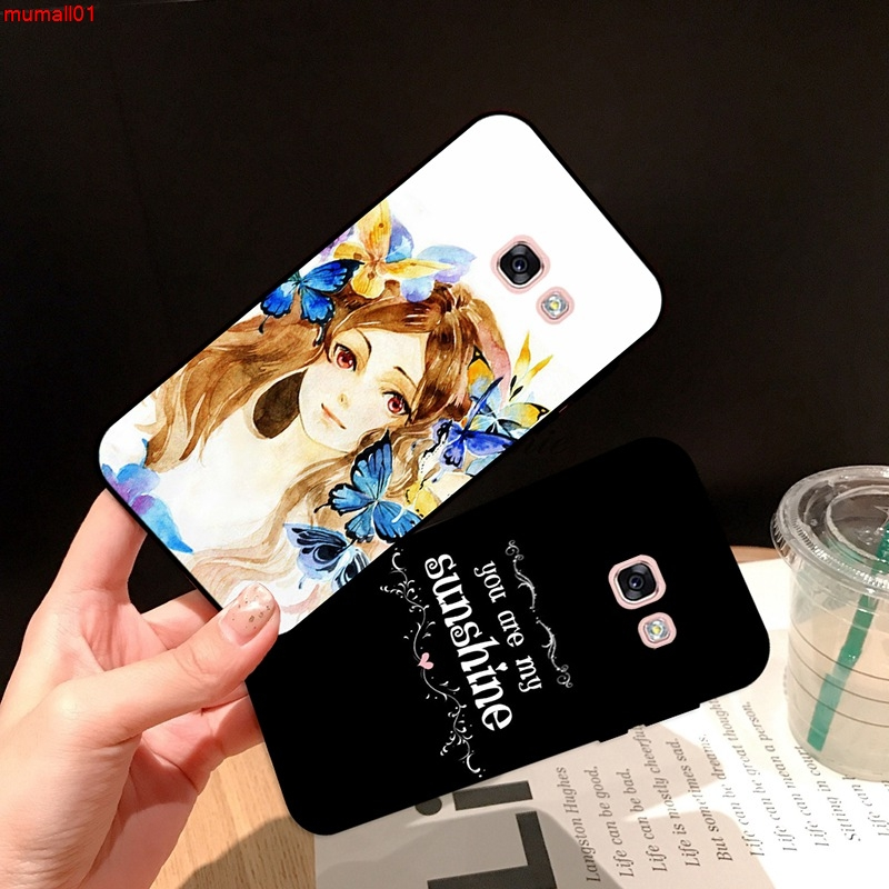 Samsung A3 A5 A6 A7 A8 A9 Pro Star Plus 2015 2016 2017 2018 DMYS Pattern-4 Silicon Case Cover