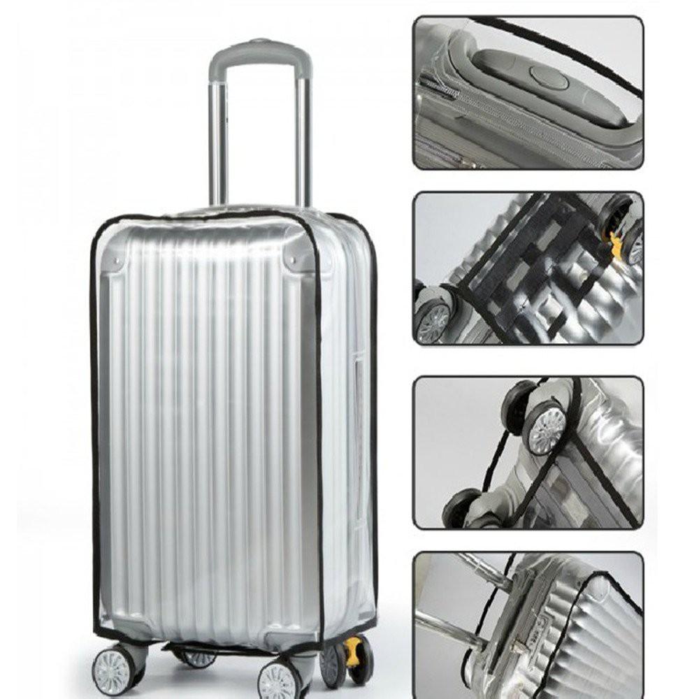 พลาสติกใสคลุมกระเป๋าเดินทาง (PVC Cover) ขนาด 24นิ้ว GTCB02