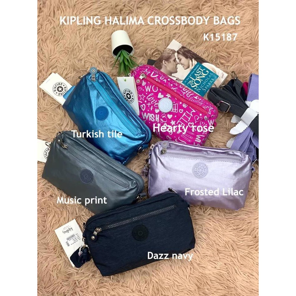 KIPLING HALIMA CROSSBODY BAGS กระเป๋าสะพายจาก Kipling