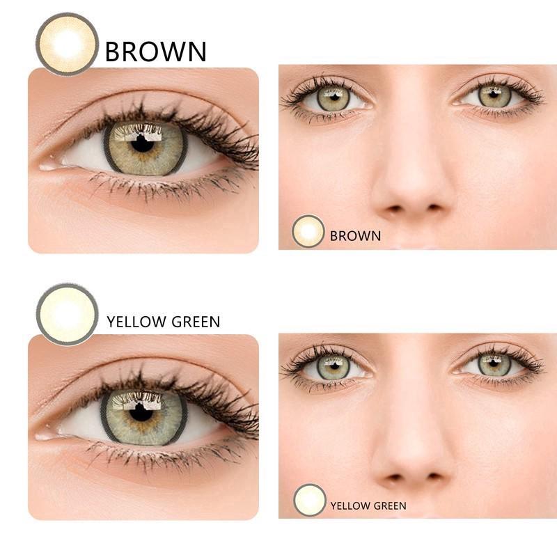 Best Price 2pcsset Yearly Big Eye Enlarge Eyes Makeup Cosmetic