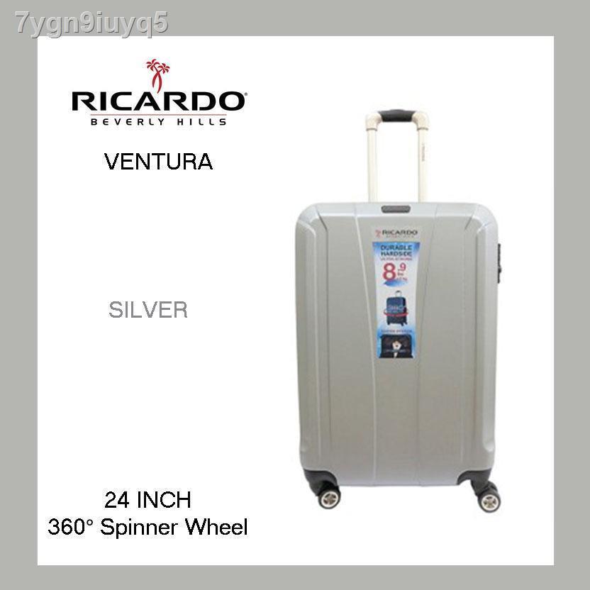 🔥มีของพร้อมส่ง🔥ลดราคา🔥❧❒☂กระเป๋าเดินทาง Ricardo Ventura 24 นิ้ว