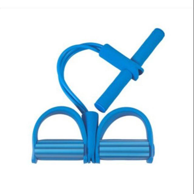 ยางยืดออกกำลังกาย กระชับสัดส่วน(เฉพาะสีฟ้า)ผ้ายืดออกกำลังกาย ยางยืดแรงต้าน  ยางยืดออกกำลังกายแรงต้านสูง