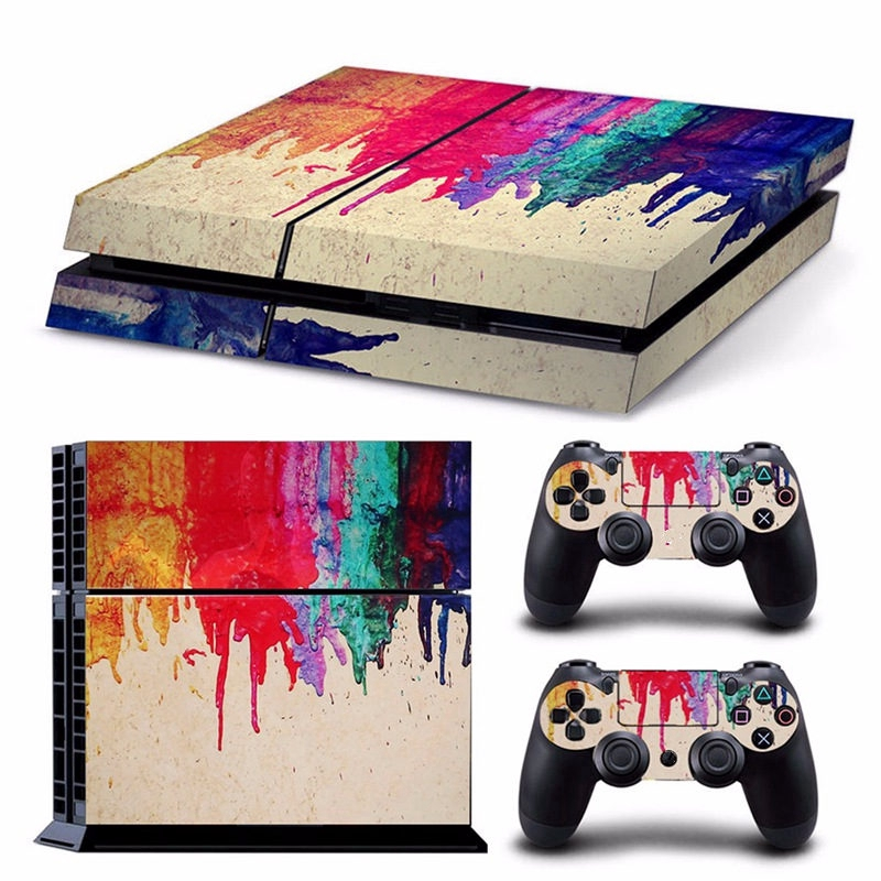 Batman Skin Stickers for Sony Playstation 4 Console and