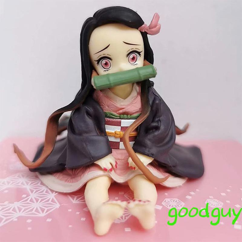 Animation Peripheral Model Kamado Nezuko Figure PVC Figure Model Demon Slayer Nezuko Figur0