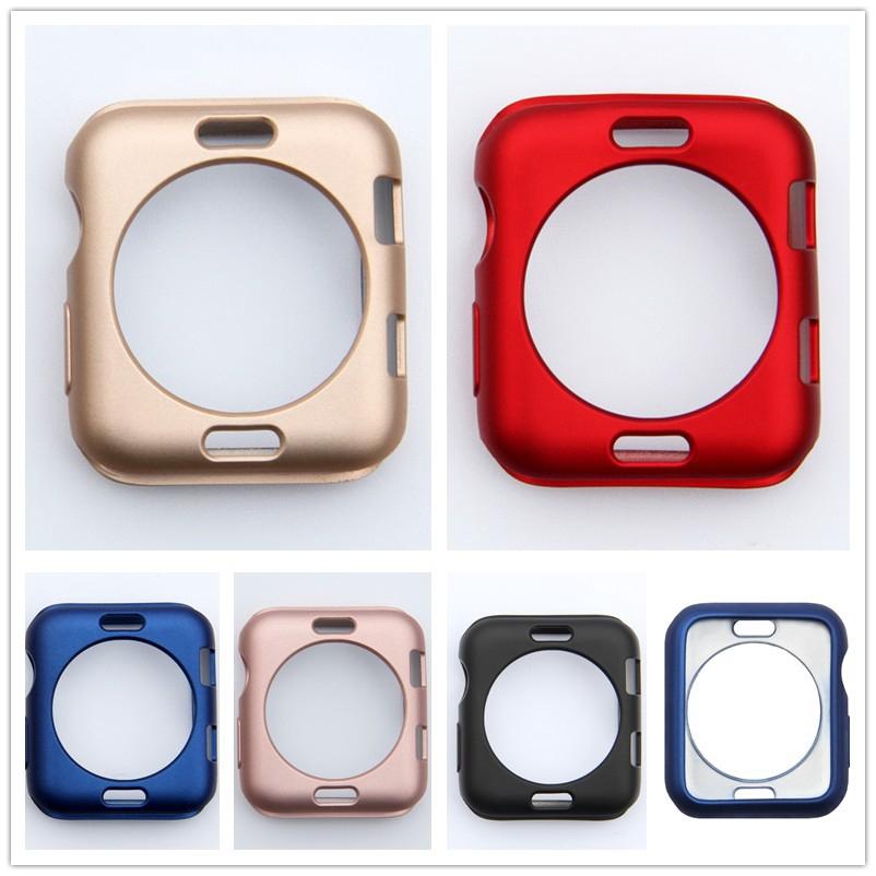 กรอบเคส TPU สำหรับ Apple Watch Series 1 2 3 4 5 38มม 42มม 40มม 44มม iWatch 5 4 3 2 1 apple watch case casing 44mm 40mm