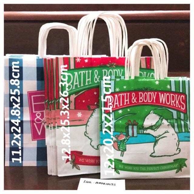 ถุงกระดาษ ของใหม่ Bath and Body Work - Bath & Body Works Bag