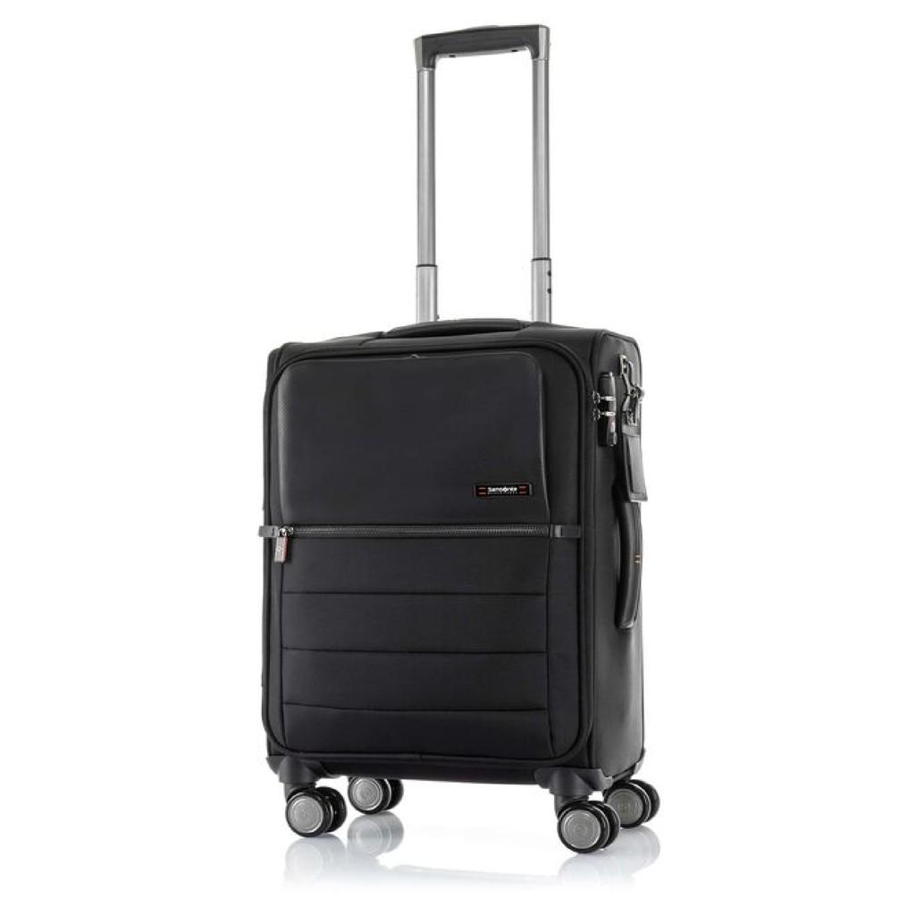 SAMSONITE Black Label กระเป๋าเดินทางล้อลาก (20 นิ้ว) รุ่น SBL VERON II SP55/20 Mobile Office Tag